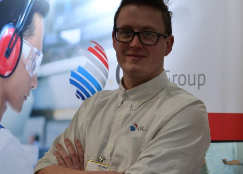 CEL Group's UK Head of Engineering, Ryan Clark